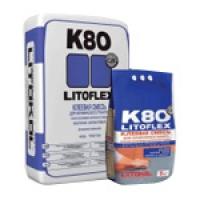 Клеевая смесь для плитки LITOFLEX K80 eco Litokol