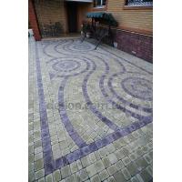 Элитная тротуарная плитка под натуральный камень  многоэлементная