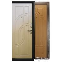 Дверь звукоизоляционная стальная/деревян. под ключ