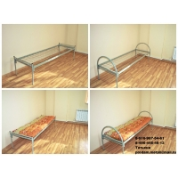 Металлические кровати эконом класса. Собственное производство