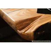 Стол из слэбов Сибирской лиственницы