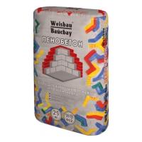 Сухие смеси Weber Vetonit Клей для ячеистых бетонов и газосиликата ПЕНОБЕТОН 25 кг