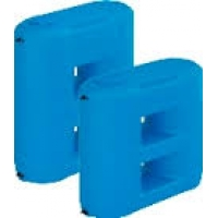 Баки (бочки) для воды пластиковые Combi плоские 1100-2000 л Aquatech