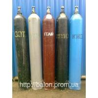 Продам б/у баллоны: кислородные, углекислотные  40 литров