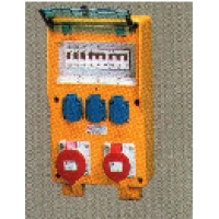 Комплектные устройства в корпусах из твердой резины EverGUM Mennekes габаритный корпус 380х230мм