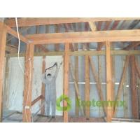 Напыляемый пенополиуретан ППУ Экотермикс - утепление стен, фасадов, перегородок