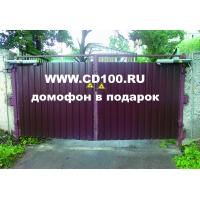 Ворота автоматические въездные распашные и откатные
