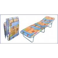 Кровать раскладная полумягкая Ярославский завод кемпинговой мебели Стандарт-М20
