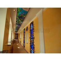 Витражные потолки Тиффани с подсветкой МИР ВИТРАЖА