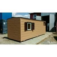 "Блок-контейнер ""Баня"" 6 метров"