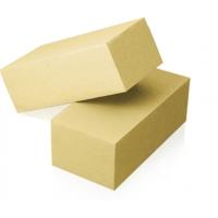 Кирпич силикатный желтый, полуторный пустотелый.