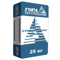 Штукатурная смесь для наружных работ Гора Хрустальная ШТНБ 50/75