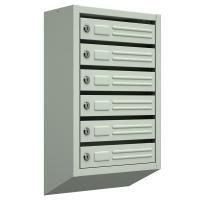 Почтовые ящики для подъезда  10-секционные