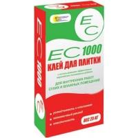 Клей плиточный ЕС 1000 для внутренних работ
