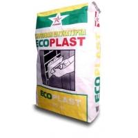 Гипсовая штукатурка белая ECOPLAST Русеан 30 кг для ручного нанесения