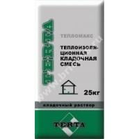 Раствор кладочный для теплой керамики Терта Тепломакс 25кг