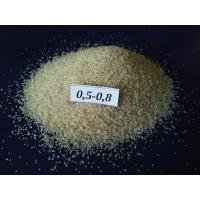 Кварцевый песок для пескоструйных работ