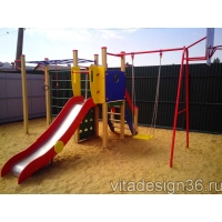 Игровые и спортивные детские площадки
