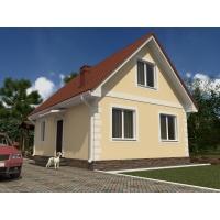 Продам новый дом 100 кв.м, участок 4 сот. в п.Владимировка