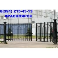 металлические ворота zaboroff