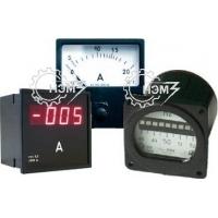 Амперметр, вольтметр, частотомер, ваттметр, варметр, фазометр, э