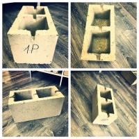 Блоки керамзитобетонные и пескоцементные от производителя HONIK