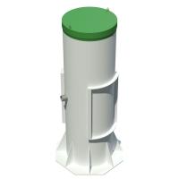 Автономная канализация Тополь 4 Плюс с удлинённой горловиной