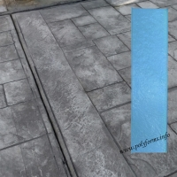 Штамп для бетона и штукатурки - Лента (бордюрный)