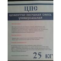 Цементно-песчаная смесь (ЦПС) (Боровичи) 25 кг