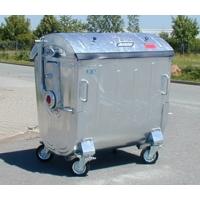Оцинкованный контейнер 1,1 м3  MGB 1,1