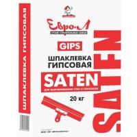 Шпатлевка  Евро-Л SATEN 20 кг