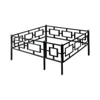 Металлические ритуальные ограды с бесплатной доставкой