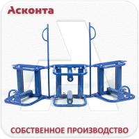 УКС150 Угловая секция кабельных роликов до 150мм
