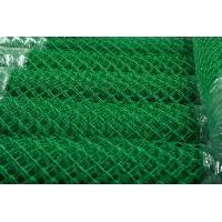 Сетка плетеная (рабица) из проволоки, покрытой ПВХ,  d=2,5 мм, рулоны (1,5 м х 10 м)