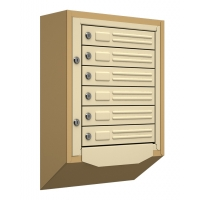 Антивандальные почтовые ящики Терра 3-10 секций от 1619 р