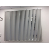 Жалюзи рентгенозащитные  вертикальные