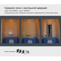 Люки сантехнические для скрытия труб,коммуникаций ARDI