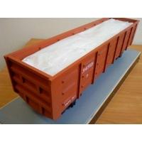 Вагонные вкладыши контейнеры полипропиленовые  размерами 13х2х3