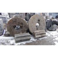старинные мельничные жернова для ландшафтного дизайна