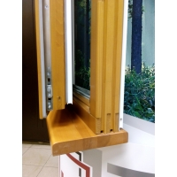 Дерево-алюминиевое окно LD-LUX комбинированное