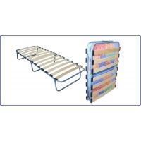 Детская раскладная ортопедическая кровать с холконовым матрасом Ярославский завод кемпинговой мебели КТР-2ЛПК