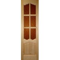 межкомнатная дверь из массива сосны  ПО-20.6-2