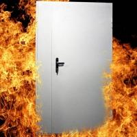 Дверь противопожарная 900х2100