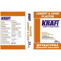 Сухие смеси от производителя KRAFT штукатурка гипсовая