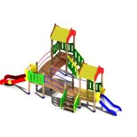 Детские игровые площадки, песочницы, горки, карусели