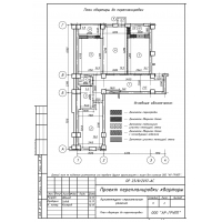 Проект перепланировки квартиры/помещения.
