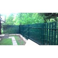 Забор для дачи под ключ из металлического штакетника 1700 руб м.
