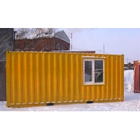 Бытовка из морского и ж/д контейнера  6м х2,4м х2,6(2,9)м