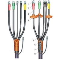 Концевые и соединительные муфты  для кабеля сеч. от 1,5 до 10 мм2