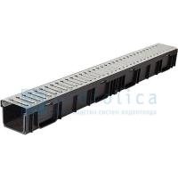 Комплект: лоток Лайт ЛВ-10.11,5.9,5-пластиковый с реш. стальной Gidrolica